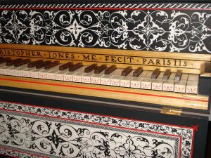 Clavecin Christopher Jones