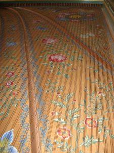 Structure harmonique d'un clavecin