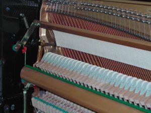 Feutre de sourdine ou moliphone de piano droit