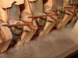 Ganses de ressorts de rappel de marteaux de piano droit