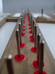 Pointes et mouches de balancier de piano